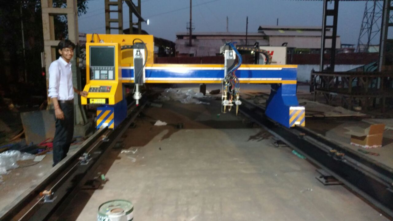 3m gantry cnc plasma flame cutting machine